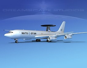 3D Boeing E-3B AWACS NATO