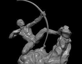 3D model hercules antoine bourdelle