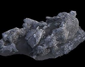 3D model Volcanic Rock V1