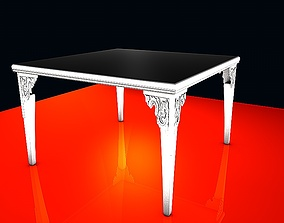 Dinning table - S series - 15 3D