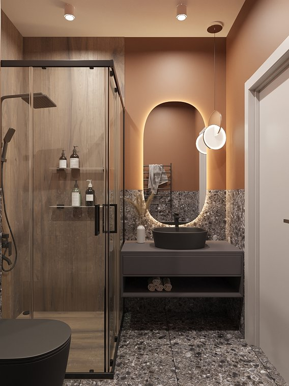 Visualization of bathroom