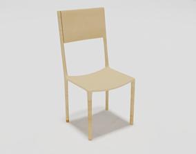 Minimalist Chair 3D model VR / AR ready