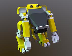 3D asset realtime Mech Robot