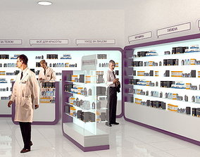 Pharmacy shop 3D
