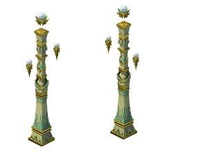Game model - Hanging Garden - Cloud pillar 3D