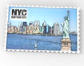 Newyork relief miniature 3d model