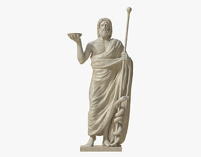Asclepius the God of Healing 3D model