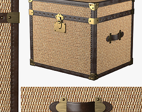 3D model MAYFAIR RATTAN SIDE TABLE