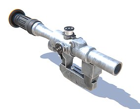 3D model Sniper Scope PSO