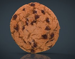 Chocolate Cookie 3D asset