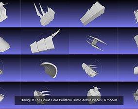 Rising Of The Shield Hero Printable Curse Armor Pieces 3D