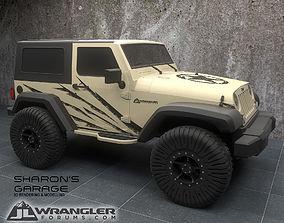 Jeep Wrangler Modified 3D model