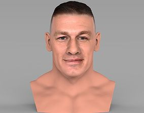 John Cena bust ready for full color 3D printing