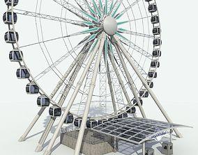 3D Sky Wheel With Platform Max