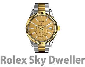 Rolex Sky Dweller 3D model