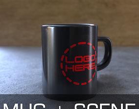 texture Ceramic Mug 3D model