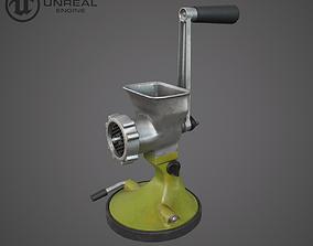 3D model low-poly Meat grinder