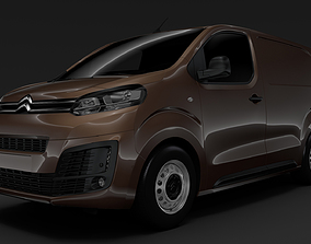 3D model Citroen Dispatch M 2020