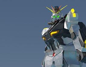 Gundam RX - 93 Low Rigged 3D animated