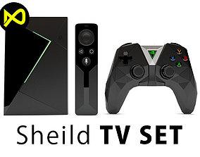 NVIDIA SHIELD TV Set 3D model