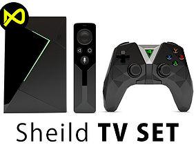 3D model NVIDIA SHIELD TV Set