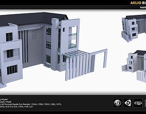 Aelio Building Model 3D asset