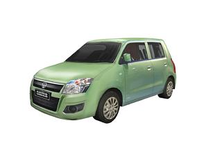 3D asset Car Karimun Wagon R Indonesian