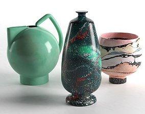 3D model Sediment Vases