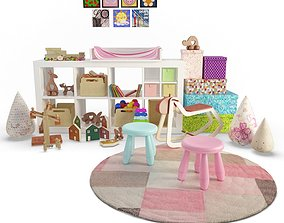 Children Bedroom Collection 3D model
