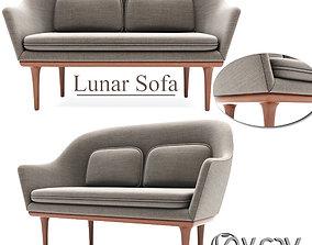 Lunar Sofa 3D model