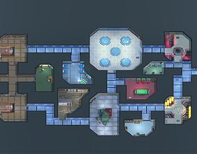 3D asset Among us Unity Modular edition