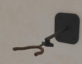 Holder guitar wall interior 3D model