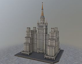 3D asset Moscow House Building58