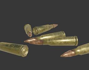 Rifle ammo bullet 3D model