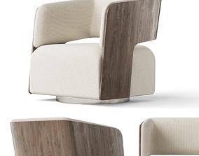 Bernhardt Montana Swivel Chair 3D model