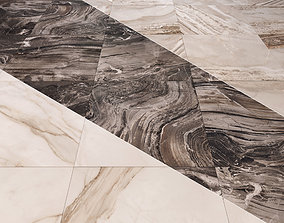 3D model Marble Floor Set 1