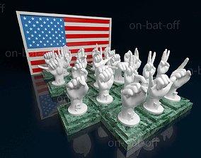 3D print model American Sign Language