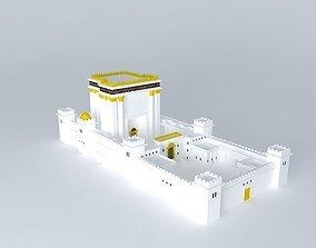 3D model Herods Temple