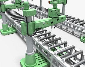 Desktop Rig Production Line 3D