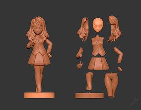 Girl Idol 3D printable model