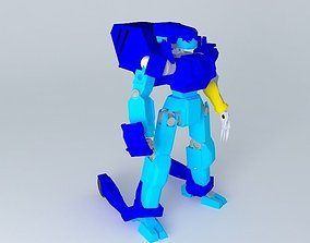 3D model Burai Experimental Radiant Wave Type