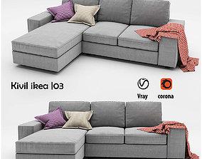 KIVIK 3 sofa 3D model