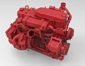 Cummins QSB 67 diesel engine 3d model
