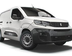 3D Peugeot Partner Crew Van LWB 2021