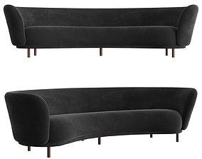Dandy 4 Seater Sofa 3D model