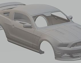 Ford Mustang 302 Printable Body Car