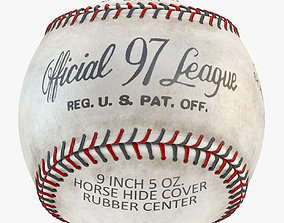 Rawlings ROLB Official League Baseball 4K 3D model