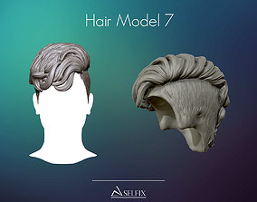 Hairstyle model 07