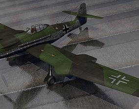 3D model historic Blohm und Voss Bv-155v-1