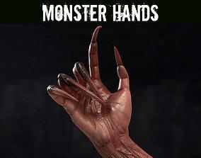 Monster Hands 3D model
